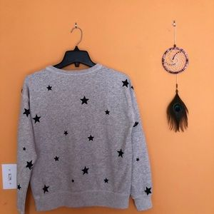 Abercrombie & Fitch Tops - Abercrombie and Fitch Printed Crewneck Sweatshirt